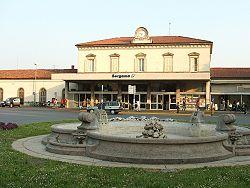 Bergamo Train Station